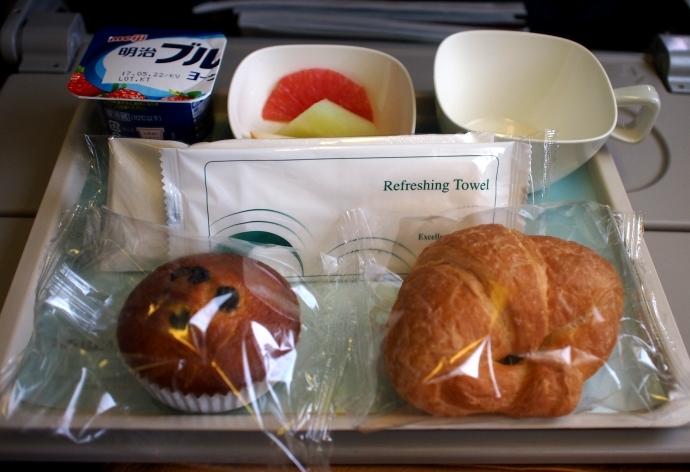 フランス旅行 機内食