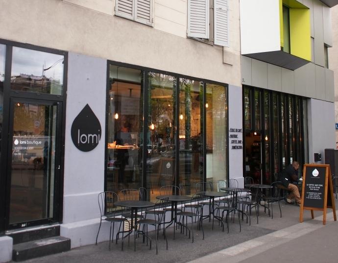 カフェ・ロミ 店