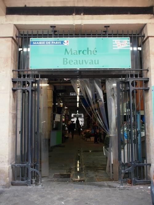 Marché Beauvau 入口