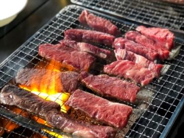 ひるがの高原 和み舎 BBQ 牛肉