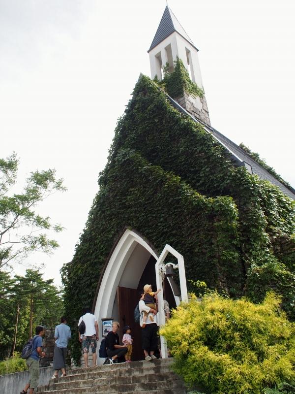ひるがの高原 牧歌の里 花の教会 2