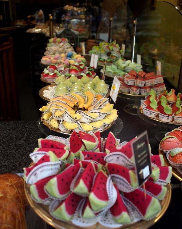 パートダマンド菓子のお店