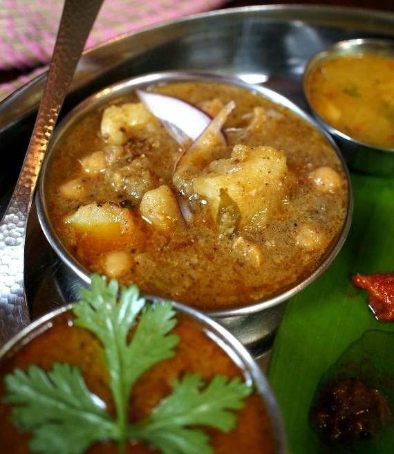 Vanam チャナ豆とポテトのカレー