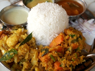 サンバレー ホテル Southindian Veg Thali
