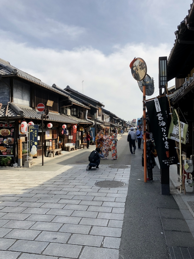 犬山城の城下町