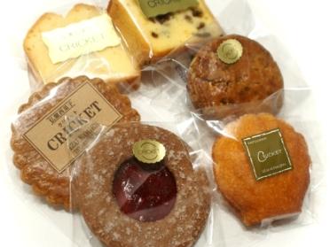 クリケット 焼き菓子6種