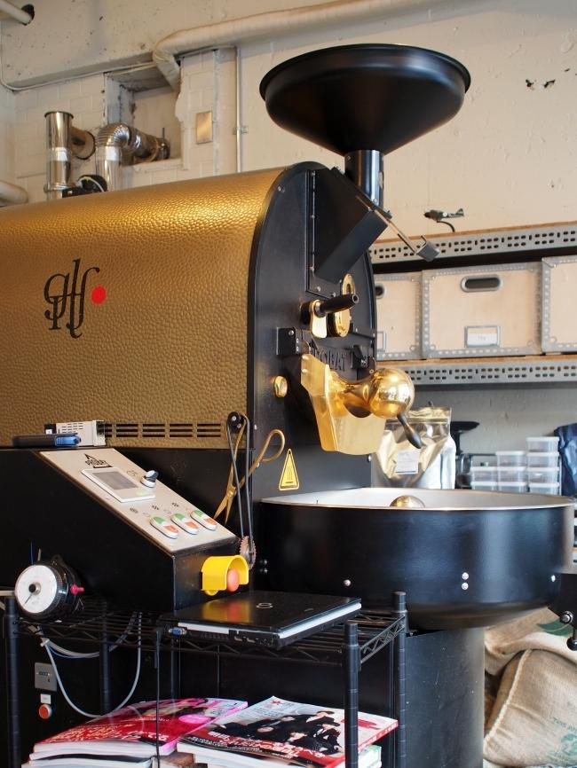 グリッチコーヒー 焙煎機