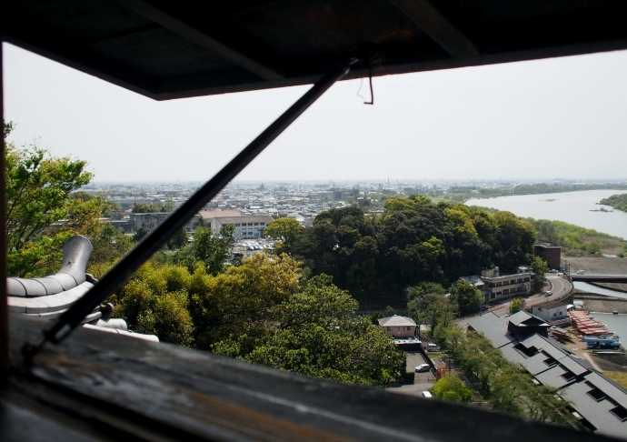 犬山城 2階からの景色2
