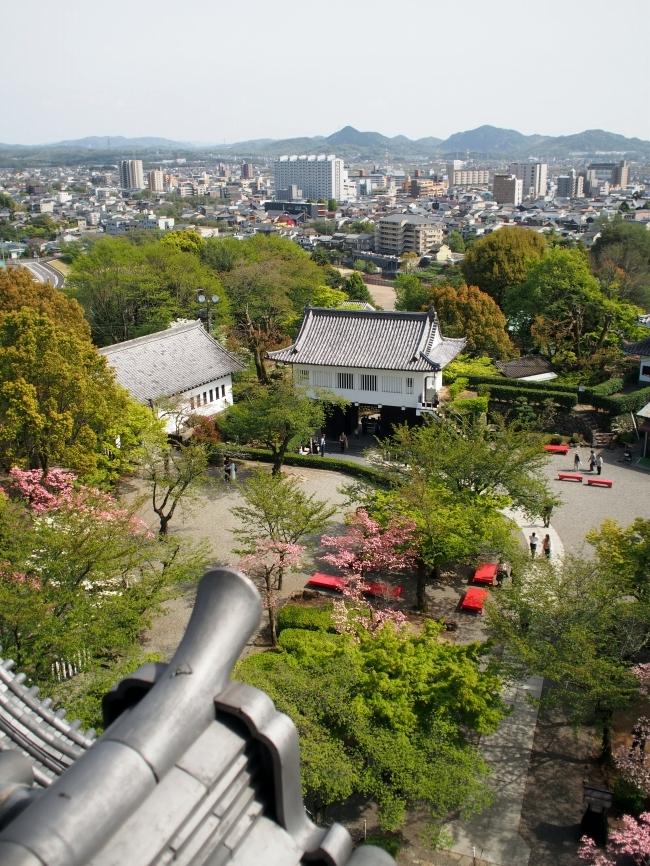 犬山城 望楼からの景色