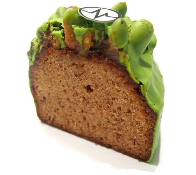 ミシャラク Cake Miel Pistache 断面
