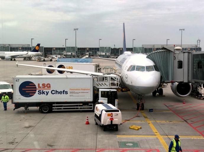 南フランス旅行 フランクフルト空港 出発
