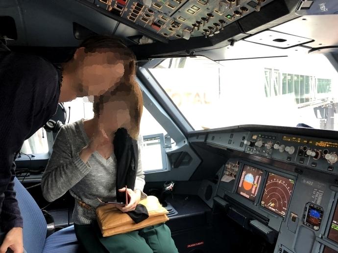 ルフトハンザ航空 コックピット 2
