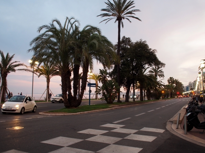 南フランス旅行 ニース 海岸通り 散歩 1