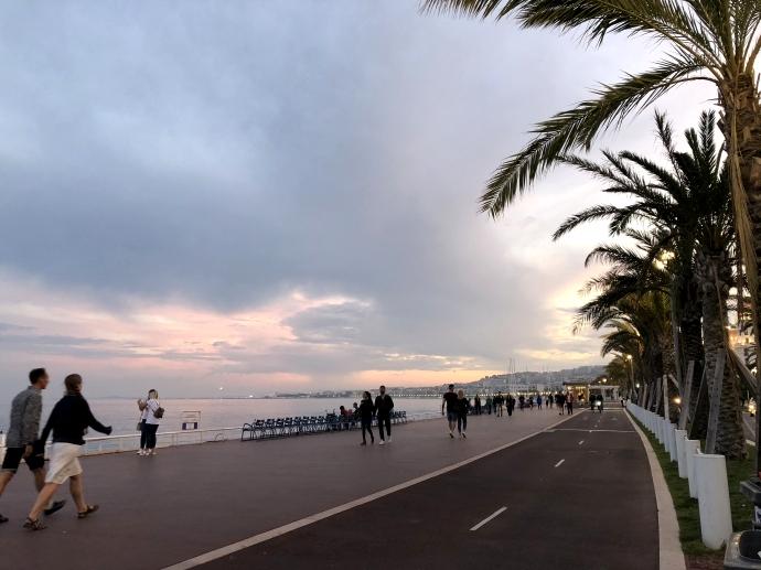 南フランス旅行 ニース 海岸通り 散歩 2