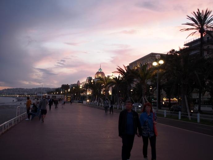 南フランス旅行 ニース 海岸通り 散歩 4