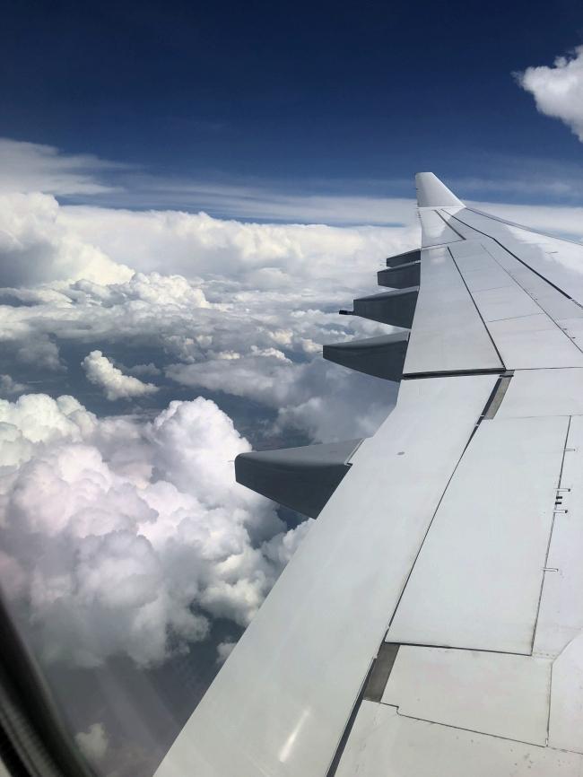 南フランス旅行 空