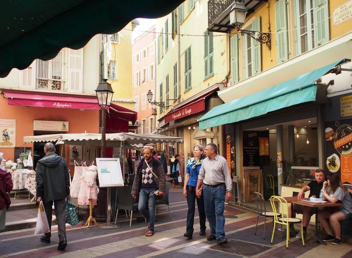 ニースの旧市街 Rue du Marché 2