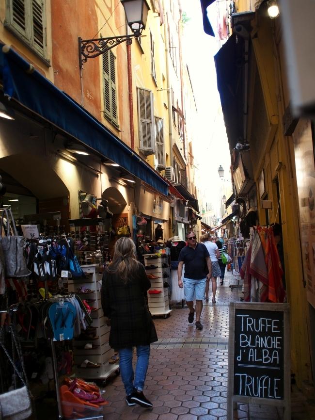 ニースの旧市街 Rue de la Boucherie 2