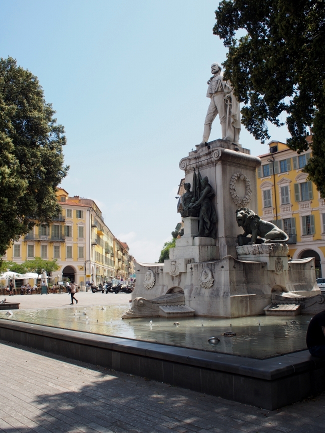 Place Garibaldi 噴水