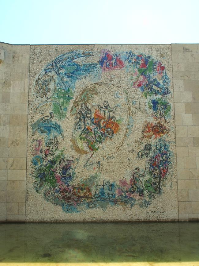 シャガール美術館 壁画