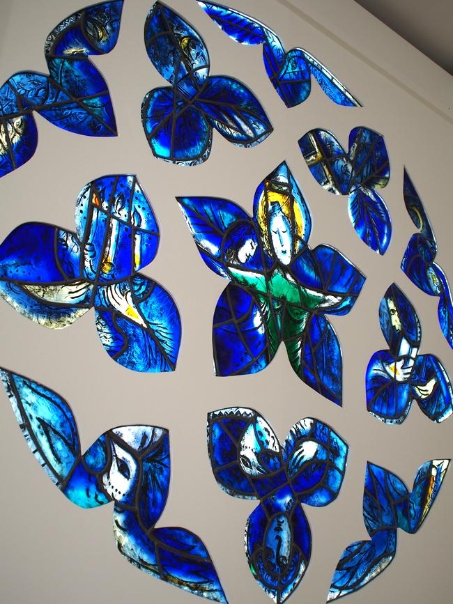 シャガール美術館 ステンドグラス