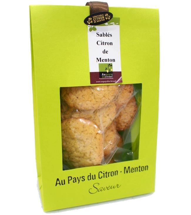 Au Pays du Citron Sablés au citron de Menton 6.7€