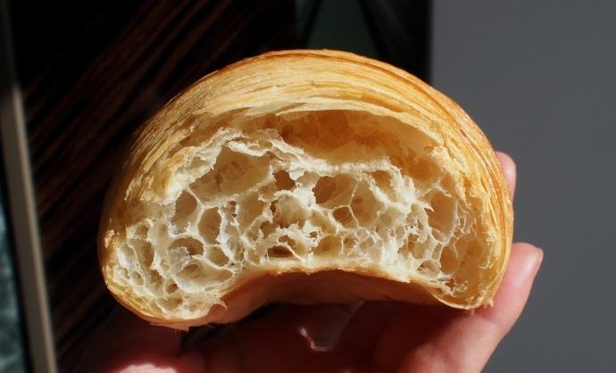 Pâtisserie Canet Croissant 断面