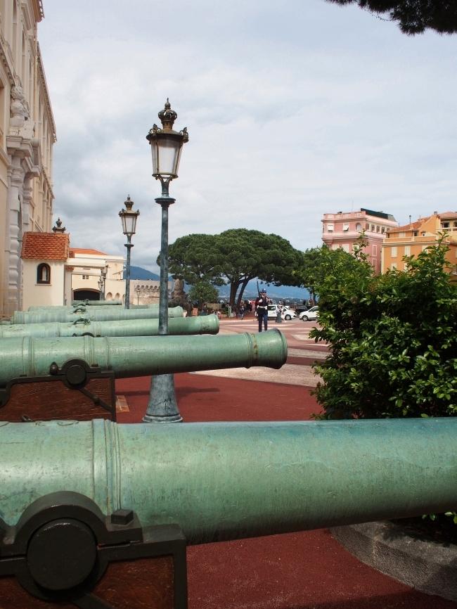 モナコ大公宮殿 大砲