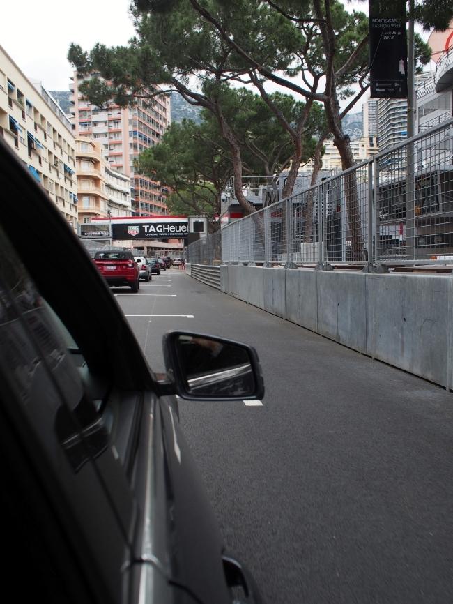 タクシー F1スタート地点