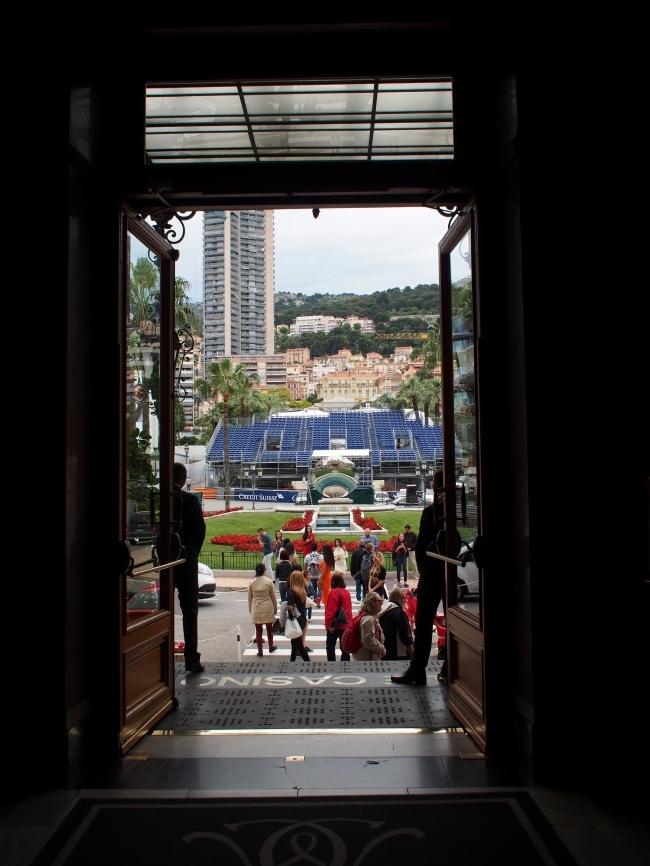 Casino de Monte-Carlo 出入り口