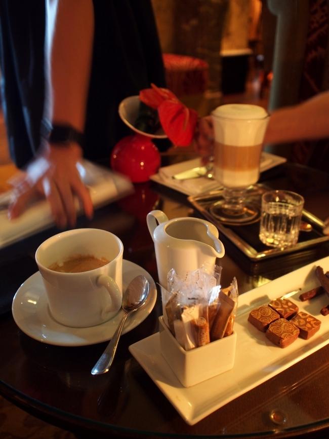 Hôtel Métropole カフェ