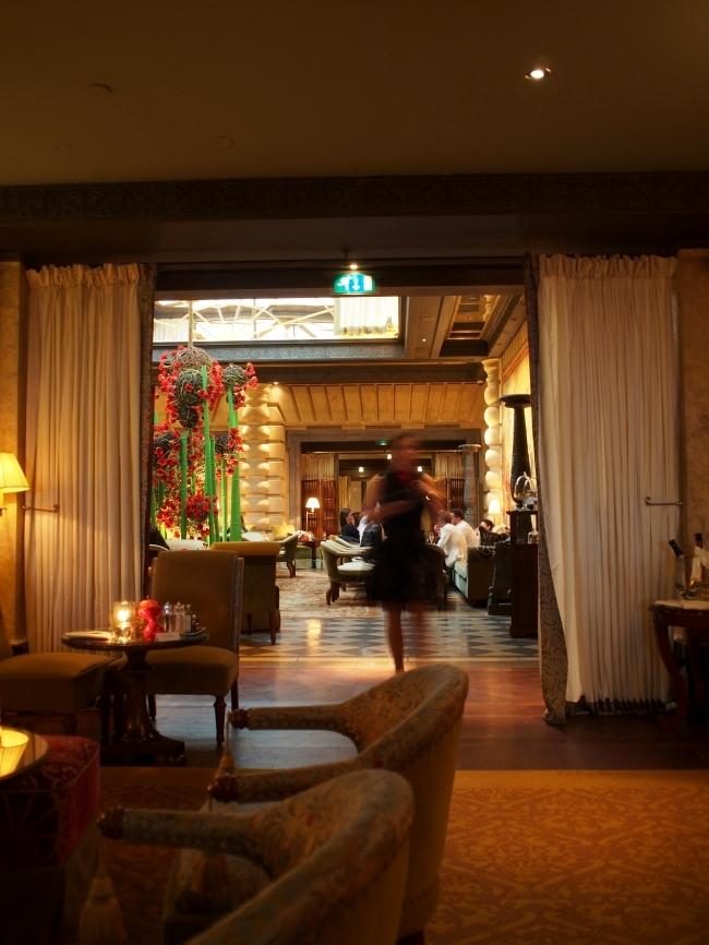 Hôtel Métropole カフェ内