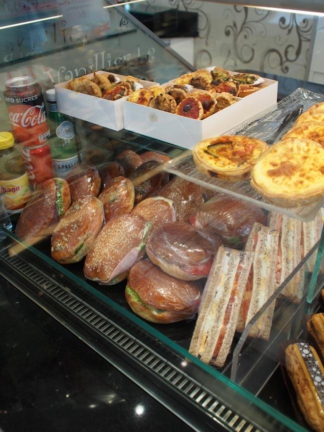 Le Vanillier サンドイッチなど