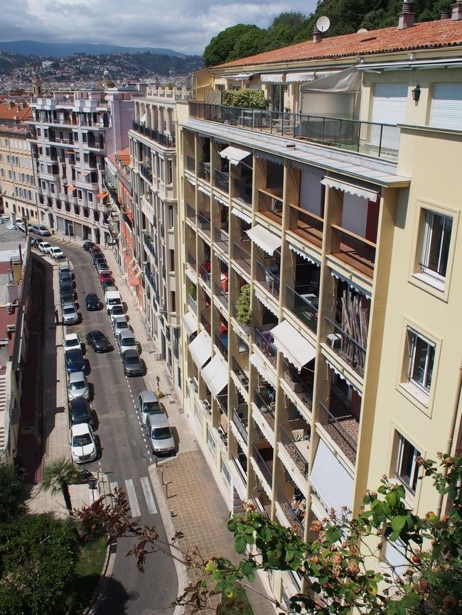 Montée Lesage からの眺め