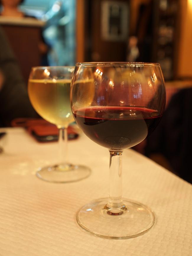 Chez Davia グラスワイン