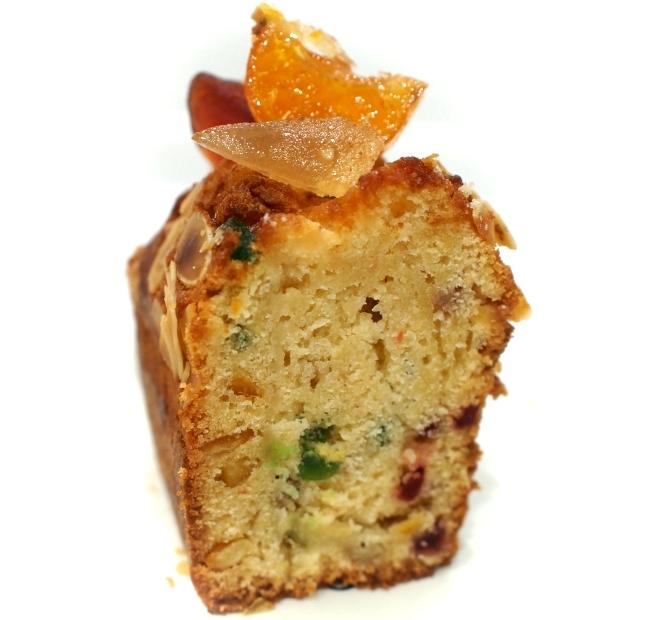 Canet Cake aux fruits confits 断面