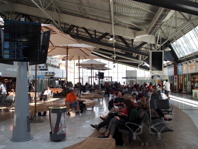 南フランス旅行 最終日 帰国へ コートダジュール空港 (Aéroport Côte d'Azur)