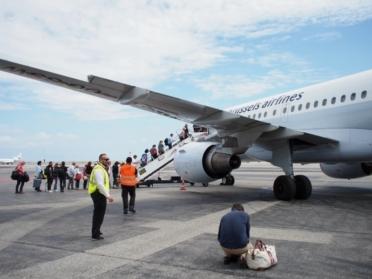 南フランス旅行 最終日 帰国へ コートダジュール空港 搭乗1