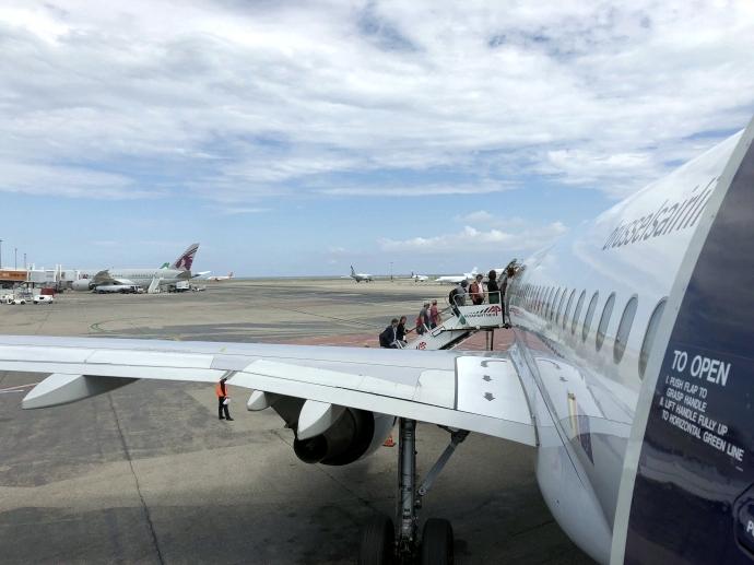 南フランス旅行 最終日 帰国へ コートダジュール空港 搭乗3