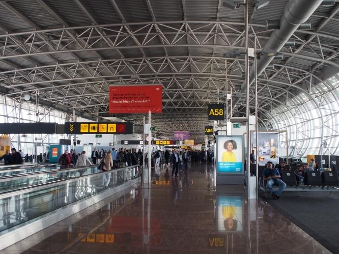 ブリュッセル空港1