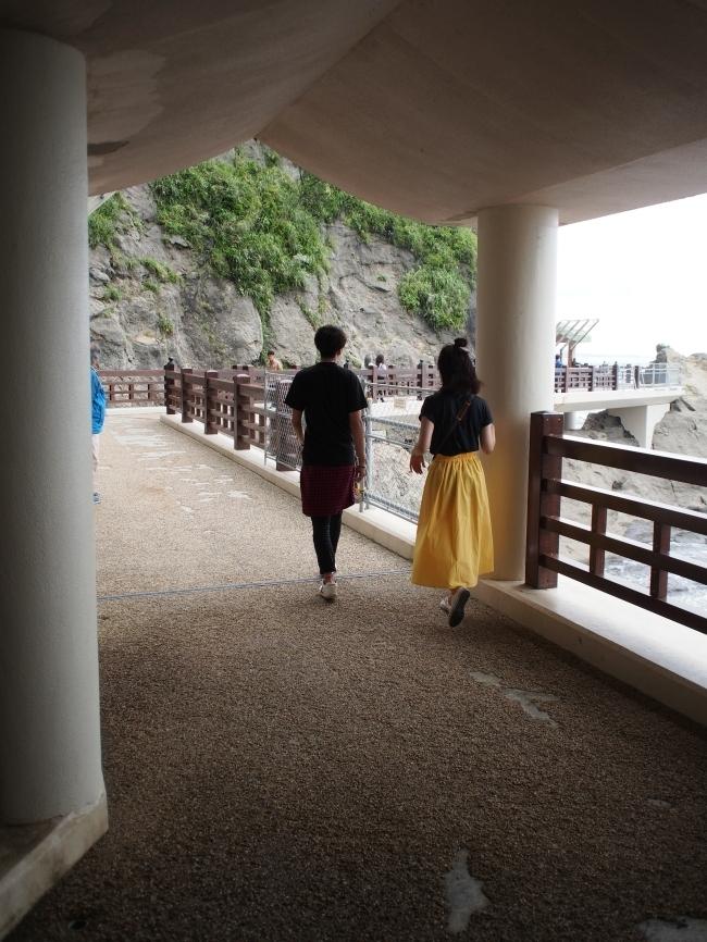 江の島岩屋 第二岩屋へ
