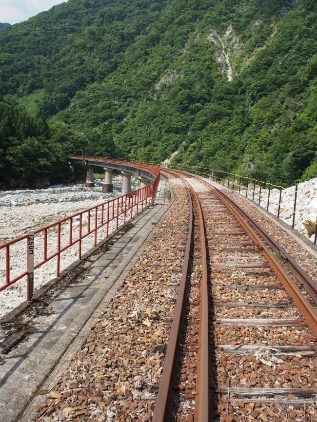ガッタンゴー 第1高原川PC橋