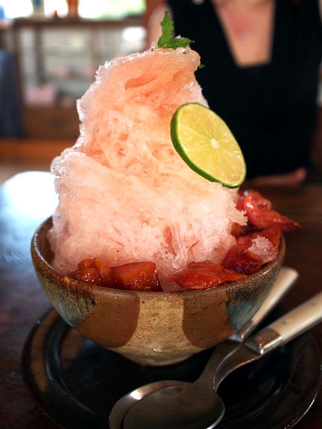 マルカフェ かき氷