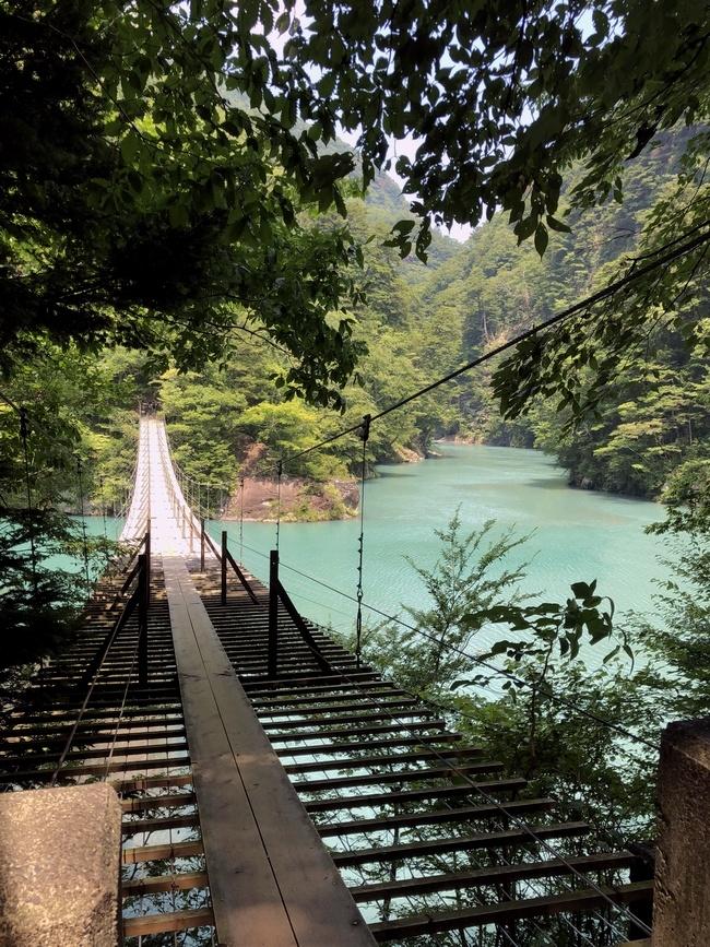 寸又峡 夢の吊橋 2
