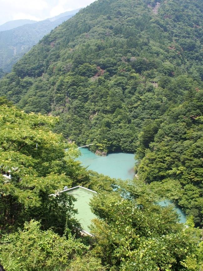 大間ダム湖