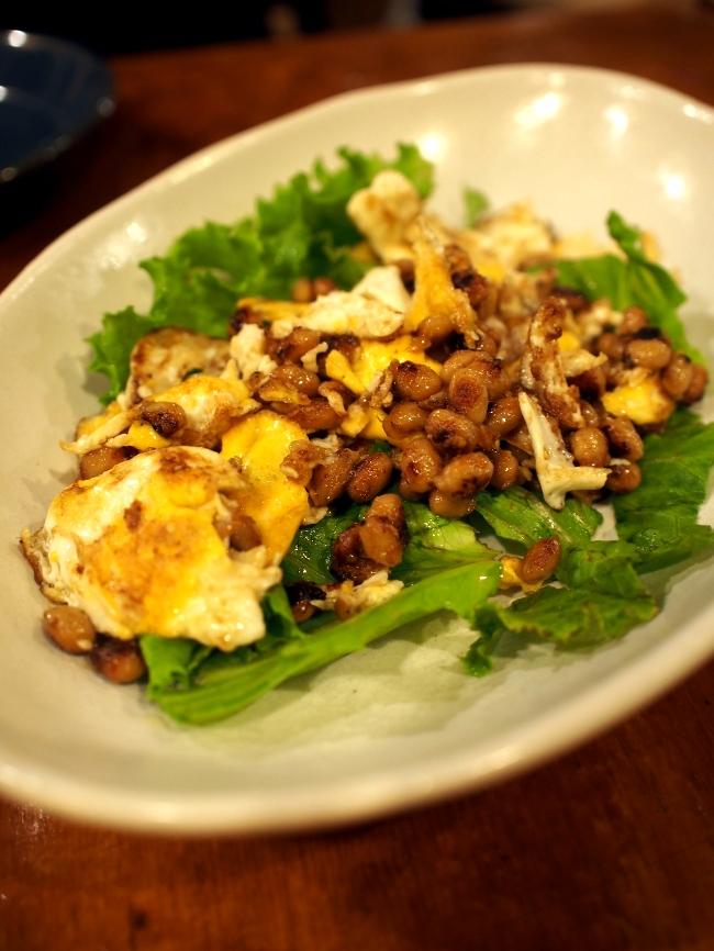 TARA 小淵沢納豆と卵のネパール風炒め