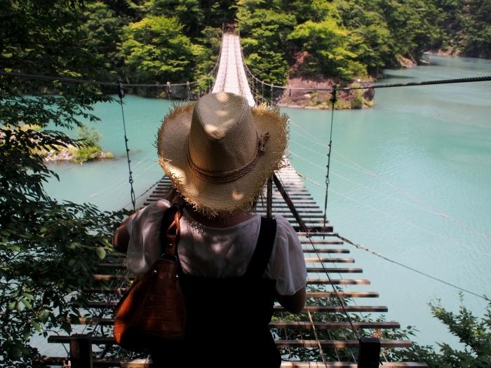 寸又峡 夢の吊橋 3