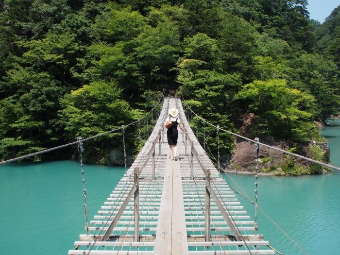 寸又峡 夢の吊橋 4