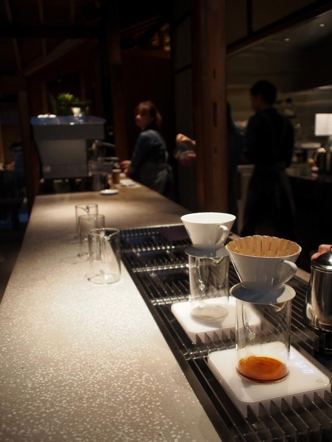 ブルーボトルコーヒー カウンター