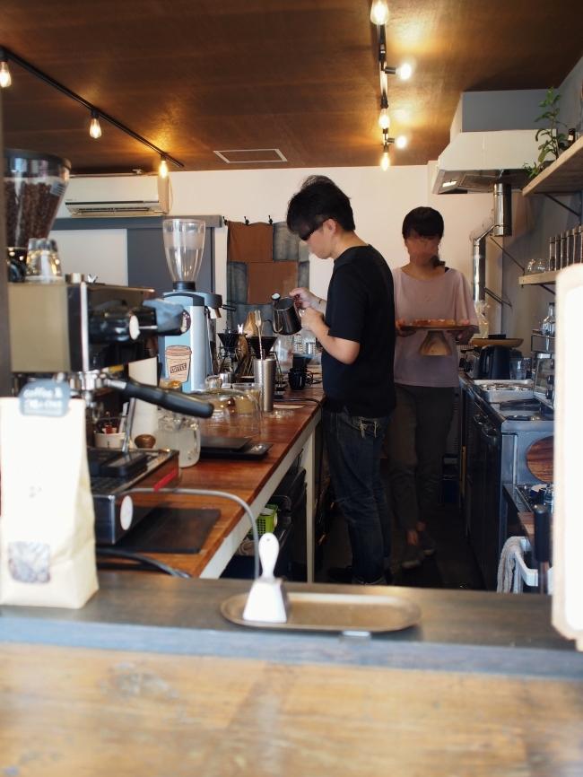 ノリズコーヒー店内